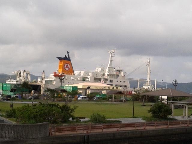10月19日(金)フェリーきかい下り入港案内